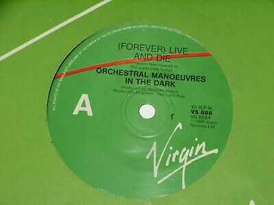 """Omd / Orchestral Manoeuvres In The Dark *Rare Oz 7""""  ' Live And Die ' 1986 Vgc+"""