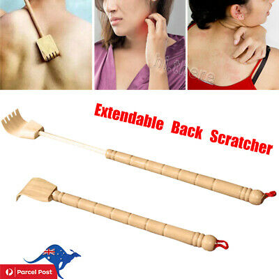 Adjustable Extendable Back Scratcher Flexible Anti Itch Self Claw Massager Home