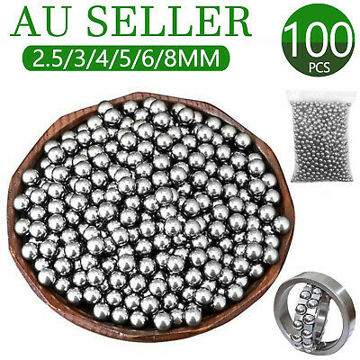 4mm 5mm 6mm 8mm 9mm 10mm Bike Bicycle Steel Ball Bearing Replacement Parts AU