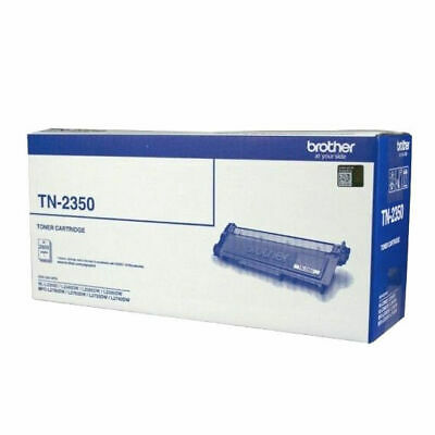 Brother GENUINE TN-2350 2350 Black Toner Cartridge Yields 2,600 Pages