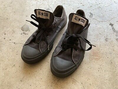 CONVERSE ALL STAR Men's size 16 VINTAGE USA Made 90s Beige