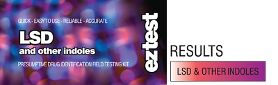 EZ TEST SUBSTANCE TEST KIT FOR LSD IDENTIFICATION [Aus Stock, FREE SHIPPING]