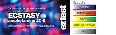 EZ TEST SUBSTANCE TEST KIT FOR ECSTASY IDENTIFICATION [Aus Stock, FREE Shipping]