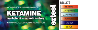 EZ TEST SUBSTANCE TEST KIT FOR KETAMINE IDENTIFICATION [Aus Stock,FREE Shipping]