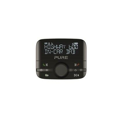 Pure Highway 600 In-Car DAB/DAB+ Audio Adapter with Bluetooth Music Hands-Free