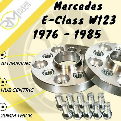 Mercedes E-Class W123 1976 - 1985 5x112 66.6 20mm ALLOY Hubcentric Spacer Wheel