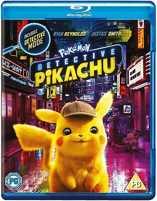 Pokémon Detective Pikachu [2019] (Blu-ray) Ryan Reynolds, Justice Smith