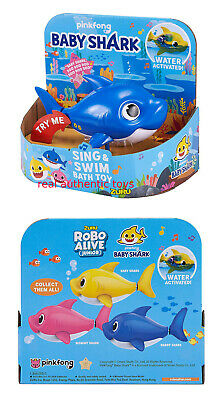 Blue Daddy - Robo Alive - Pinkfong Swim & Sing Shark - Made By Zuru - Preorder