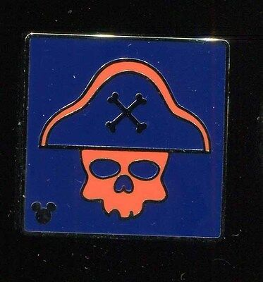 DLR 2017 Hidden Mickey Attraction Icons Pirates of the Caribbean Disney Pin