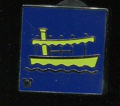 DLR 2017 Hidden Mickey Attraction Icons Jungle Cruise Disney Pin 119772