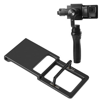 Adapter Switch Mount Plate For Hero 5 4 3 DJI Osmo Mobile Gimbal Smooth ^S