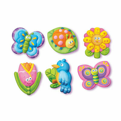 4M Garden Mould and Paint - Create either fridge magnets or badges