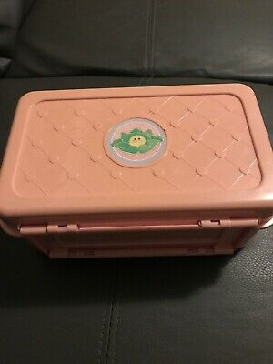 Cabbage Patch Dolls 1995 Vintage Carry Case Bedroom With Doll Playset MATTEL