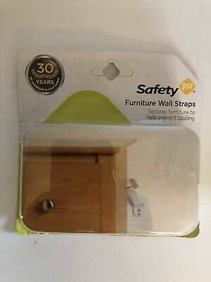 Safety 1st Furniture Wall Straps (#43)
