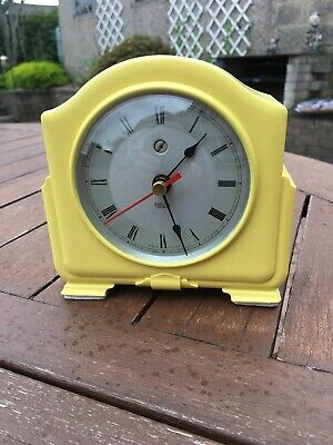 Art Deco Smith's Enfield Bakelite Electric mantel clock ( Converted to Quartz)