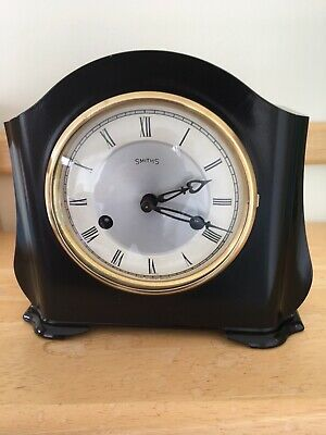 "SMITHS ENFIELD St. Pauls Striking 8 DAY ""Art Deco"" Bakelite mantel clock"