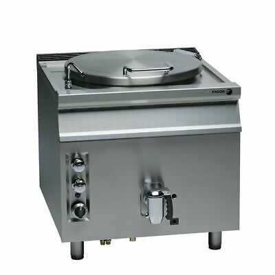 Fagor 900 Series Natural Gas 150 litre Direct Boiling Pan SS MG9-15