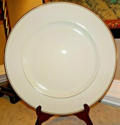 """Mikasa Ivory China Gold Trim - Trousdale - Chop Plate Round Platter Serving -12"""""""