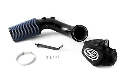Oiled Cold Air Intake Kit Textured Black For 07.5-12 Dodge 6.7L Cummins Diesel