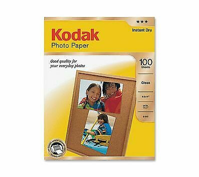 Kodak Glossy Photo Paper, Letter Size, Pack Of 100 Sheets