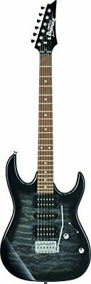 Gio Ibanez Accessory Set With Beginner Electric Guitar Set (Transparent Blac F/S