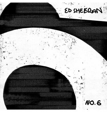 ED SHEERAN No.6 COLLABORATIONS PROJECT - CD - NEW & SEALED - Royal Mail 2nd