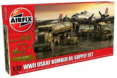 Airfix WWII USAAF 8th Air Force Bomber Resupply 1:72 Military Plastic Model Kit