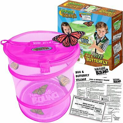Nature Bound Butterfly Growing Habitat Kit - with Voucher to Redeem Live Cate...