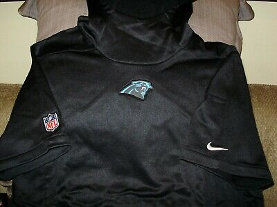 official photos 05949 4a3ba NFL CAROLINA PANTHERS NIKE Therma-Fit Pullover Hoodie Top ...