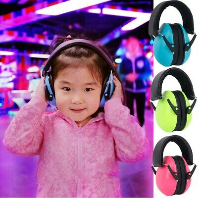 Infant Baby Girls Boy Kid Children Noise Canceling Soundproof Earmuffs Headphone