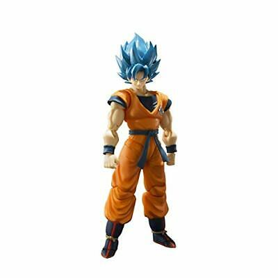 Bandai S.H. Figuarts Super Saiyan God Blue Son Goku Figure (Dragon Ball Super).