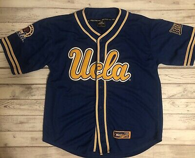 buy popular da305 d01a8 VINTAGE UCLA BRUINS BASEBALL STYLE JERSEY HIP HOP - Size Men ...