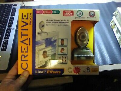 Vintage Creative Web Cam in box with accessories Free Post Australia