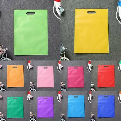 Eco-friendly Storage Shopping Bag Reusable Grocery Pouch Bags Tote Non-woven 1PC