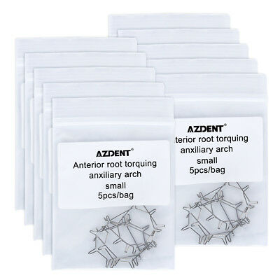 10 Bag Dental Orthodonic Anterior Root torquing Auxiliary Arch Small AZDENT