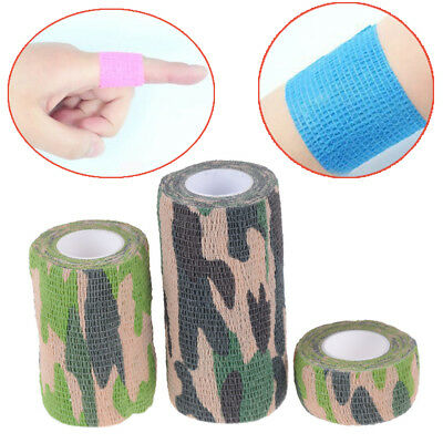 Self Adhesive Bandage Medical First Aid Nonwoven Cohesive Wound Manicure ^S