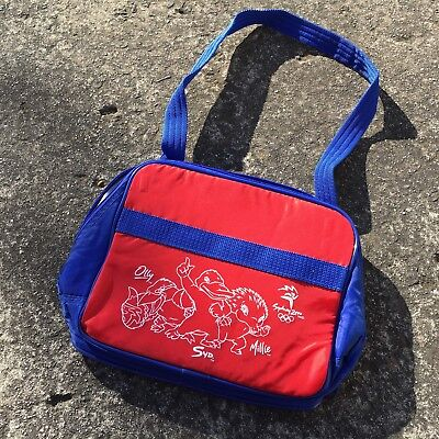 """SYDNEY 2000 OLYMPIC GAMES """"Red"""" Small Promotional Carry Bag Insulated Lunch Bag"""
