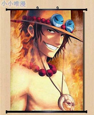 """8/""""*12/""""Home Decor Japanese Anime One Piece Solon Luffy Wall Poster Scroll One1"""
