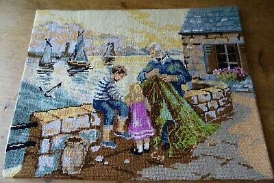 *Royal Paris*Steiner Freres S.a *Sur La Digue* Completed Tapestry Panel