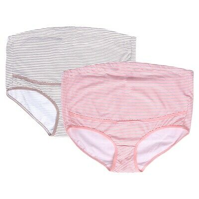 High Waist Maternity V-shaped Panties Underwear Pregnant Nightwear Fit 0-9 Month