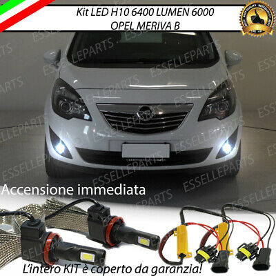 Kit Full Led Opel Meriva B H10 Fendinebbia Canbus 6400 Lumen 6000K No Error