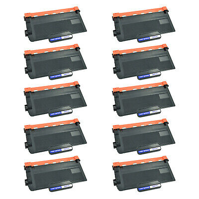 10 Packs High Yield Toner Cartridge for Brother TN-850 TN850 HL-L6250 HL-L6400