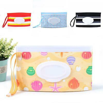 Baby Newborn Clean Wipes Carrying Case Eco-friendly Wet Wipes Bag Cosmetic Pouch