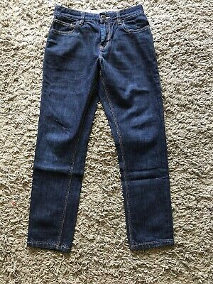 Boys Next Indigo Denim Jeans Regular Fit Size 12 Years VGC !
