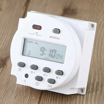 DC 12V Digital LCD Power Programmable Timer Time switch Relay 16A
