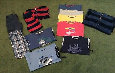 Boys Clothing Bundle Age 6-7 Years Inc. Kite Clothing And Fat Face.