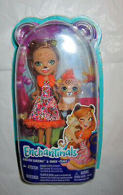 Enchantimals Cherish Cheetah Doll Mattel NIB New