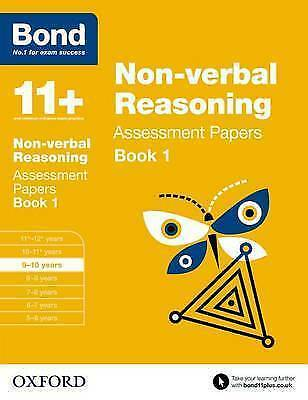 Bond 11+: Non-verbal Reasoning: Assessment Papers 9-10 years. BRAND NEW