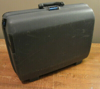 Smasonite Suitcase Vintage Hardshell Oyster Blue Luggage Mid Size