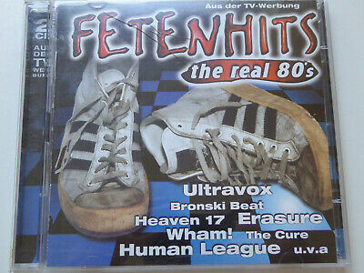 VARIOUS # Fetenhits - The Real 80's # VG+ (2CD)